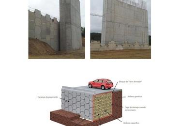 Muros de suelo reforzado (tierra armada)