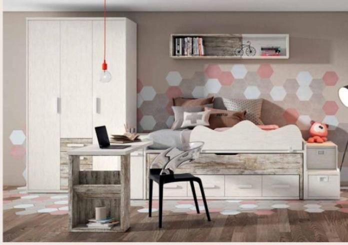 Dormitorio infantil y juvenil: Catálogo de Muebles Moragas
