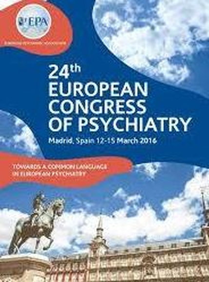 24th European Congress of Psychiatry (EPA 2016)