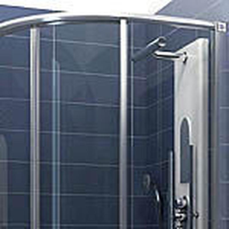 Mamparas de baño : Trabajos de Cerrajería Alberto Bautista