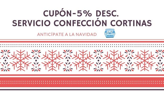 ENCARGOS CORTINAS ANTES DE NAVIDAD