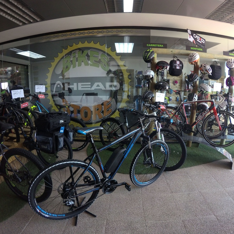 REBAJAS toda la temporada 2017 en HEAD ,CASCO,BULLS y STEVENS :  de E-Bike Guadarrama