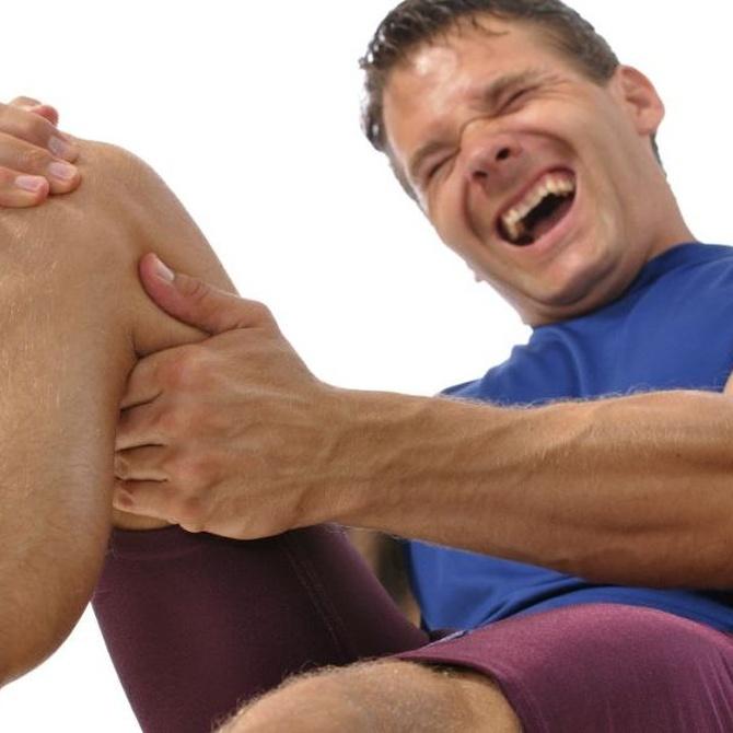 Los síntomas propios de la luxación de rodilla