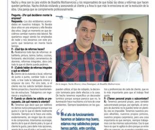 Entrevista en la revista Ayer&Hoy de Boadilla-Pozuelo