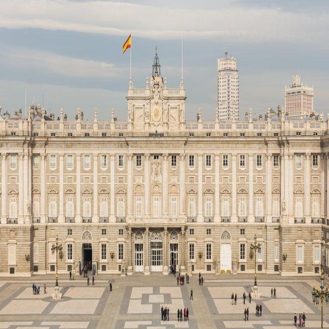 Así se construyó el Palacio Real