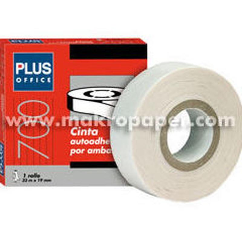 Cinta adhesiva doble cara MAKRO PAPER