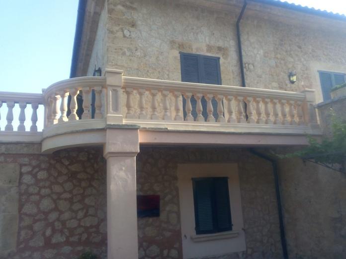 Cambio de balaustrada  posesión en establiments ( Mallorca)
