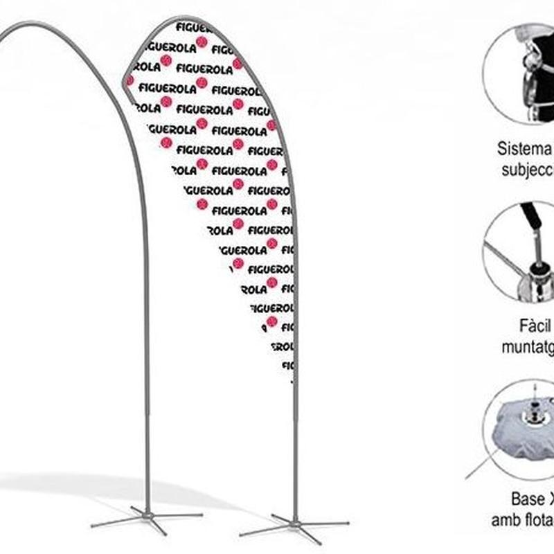 """Banderola (cuchara) """"M"""": Productos de Copistería Figuerola"""