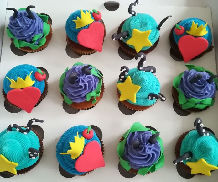 cupcake los descendientes 2