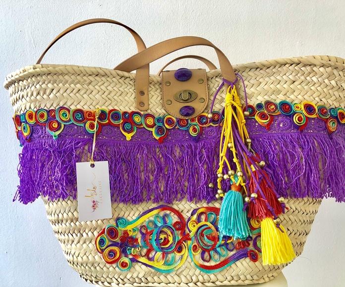 Cestas de playa: Complementos de moda de Lu & Lu Exclusive