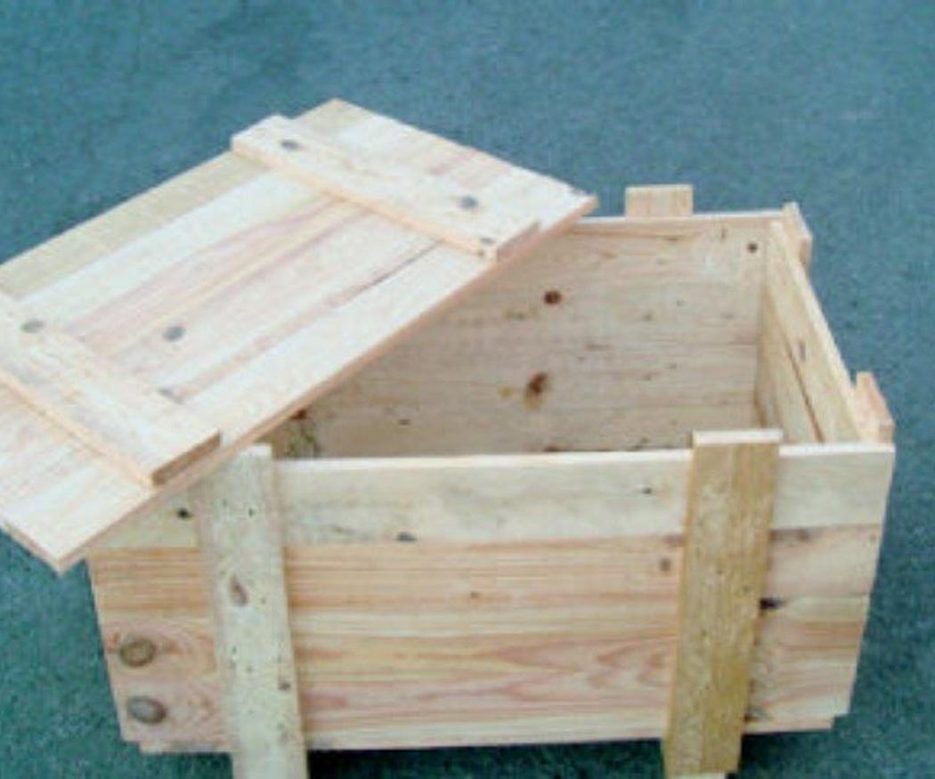 Las jaulas de madera para transporte