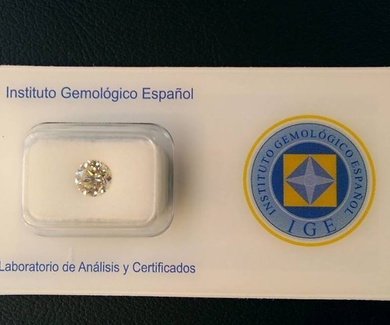 Venta Brillante 1kilate certificado