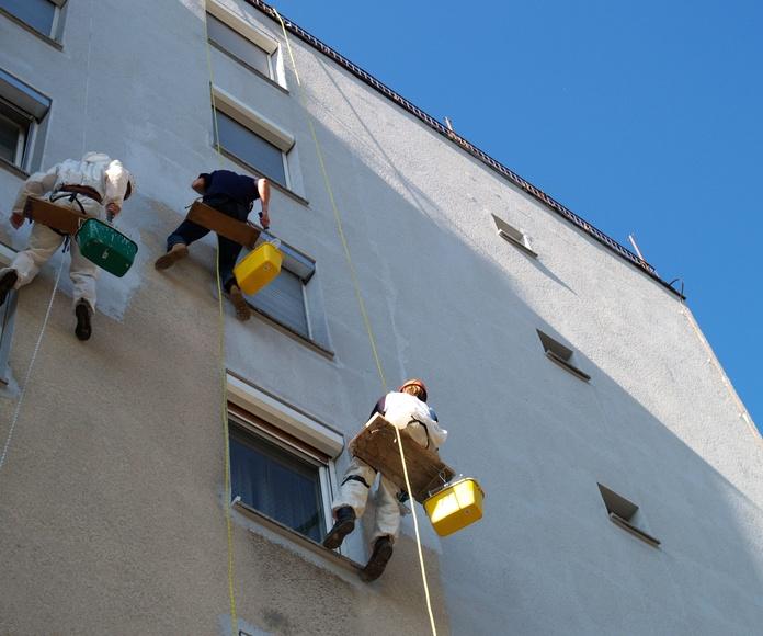 Revestimiento de fachadas: Trabajos de Pinturas Guadaño