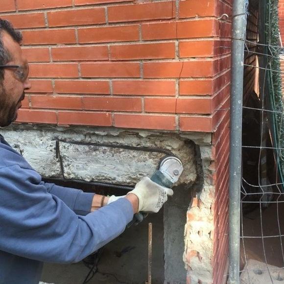 Rehabilitación de frentes de forjados: Servicios de Kaplan gestión de obras, S.L.