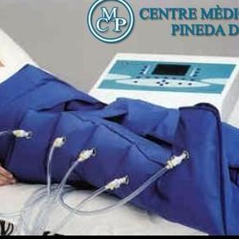 PRESOTERAPIA EN PINEDA DE MAR
