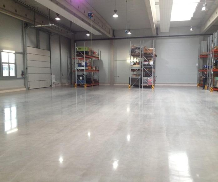 Recuperación de suelos industriales con Becosan: Servicios de Pavimentos Moreno, S.L