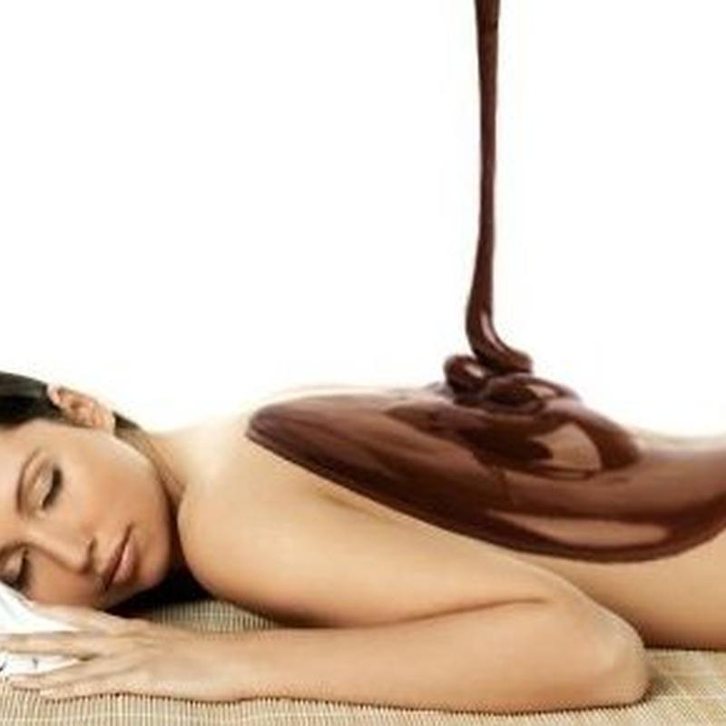 Chocolat spa:Chocolate fondue 100% y naranja: TRATAMIENTOS de Bellesa i Benestar Maria