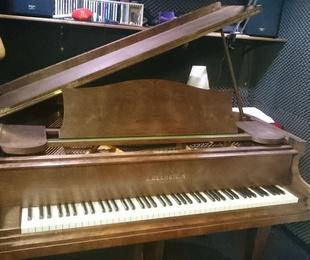 Cabina de estudio para pianistas
