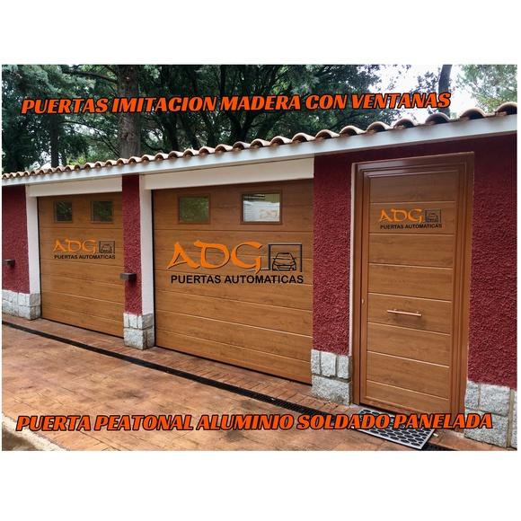 Puertas seccionales : Automatización de ADG Puertas Automáticas