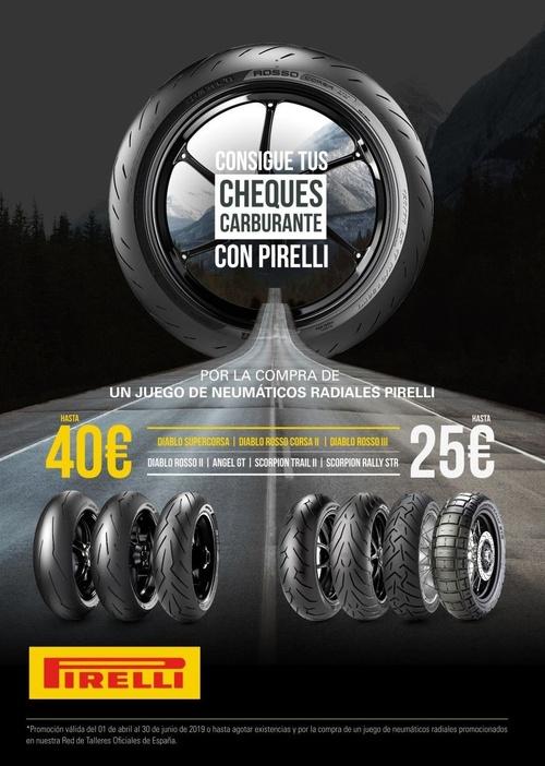 Neumáticos de moto en Málaga