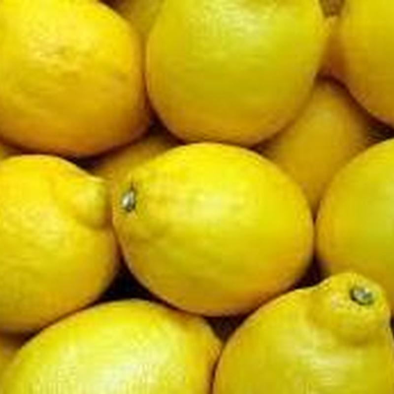 limones: Catálogo de FRUTAS PAULA