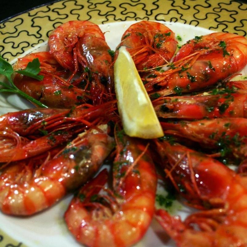 Mariscos: Nuestros platos de Brasería el Pulpero de Lugo