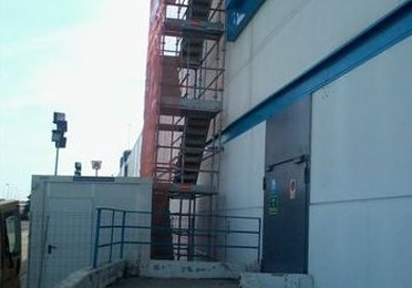 Escalera Zancas