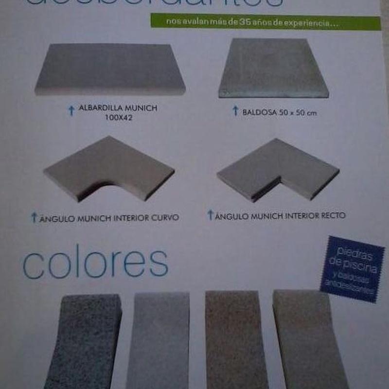 Colores : Productos y Servicios de Bordes de Piscinas J. Antonio Alonso