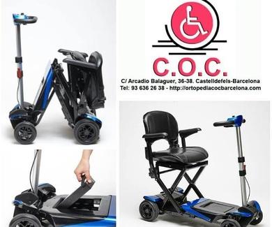 Nueva silla eléctrica plegable TRANSFORMER...!
