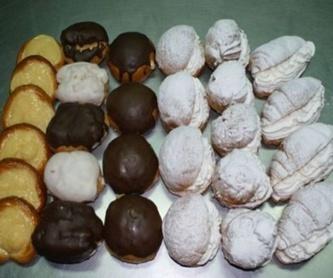 Brownie con cheesecake de chocolate : Productos de Pastelería Díaz - Miguel