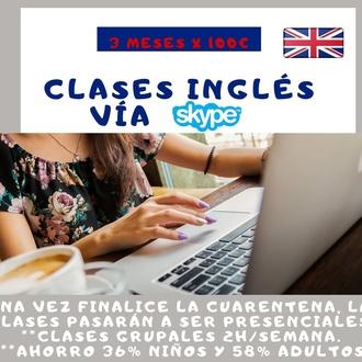 Clases inglés vía Skype