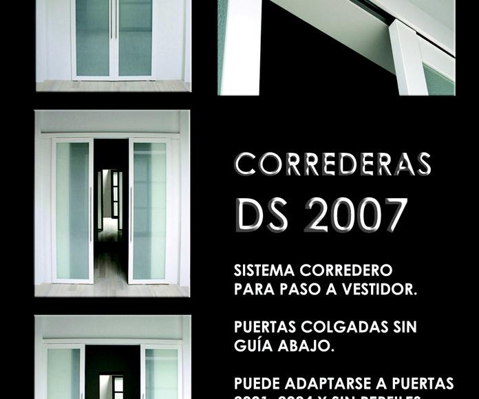 FRENTE CORREDERO DS 2007: CATALOGO  de Altxa