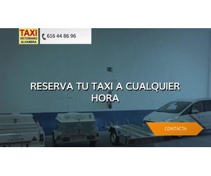 Taxi 24h en Valdepeñas   Victoriano Alhambra Taxi