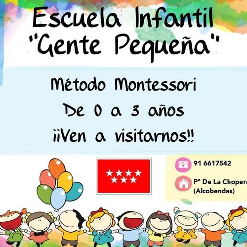 Guardería infantil en Alcobendas | Centro Infantil Gente Pequeña
