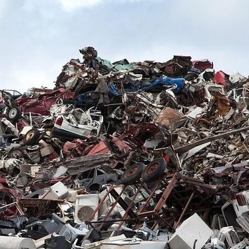Recuperación chatarrra: Servicios de Chatarreria y Compraventa de Metales Nande