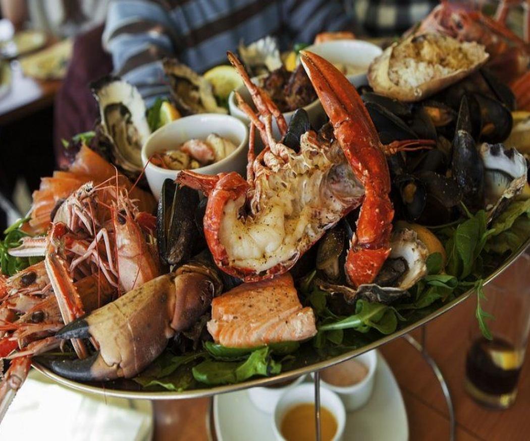 Las proteínas de los mariscos los convierten en un alimento perfecto para ponerse en forma