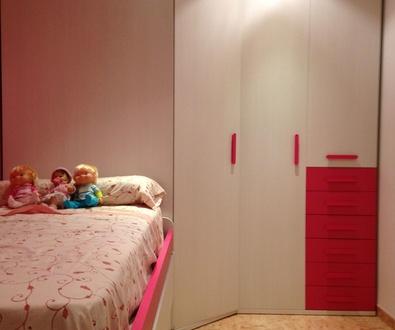 Montaje de la habitación de Aurora.