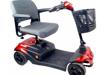 Scooter Pequeño de 4 ruedas Amigo