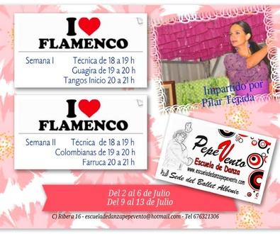 Cursos de Verano Flamenco 2018
