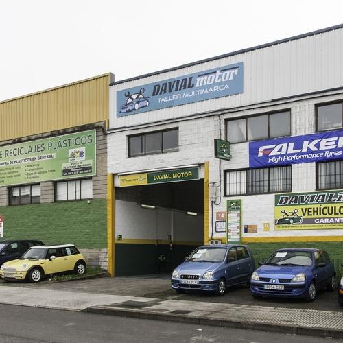 Ofrecemos: climatización, mecánica, neumáticos, alineado, amortiguación...