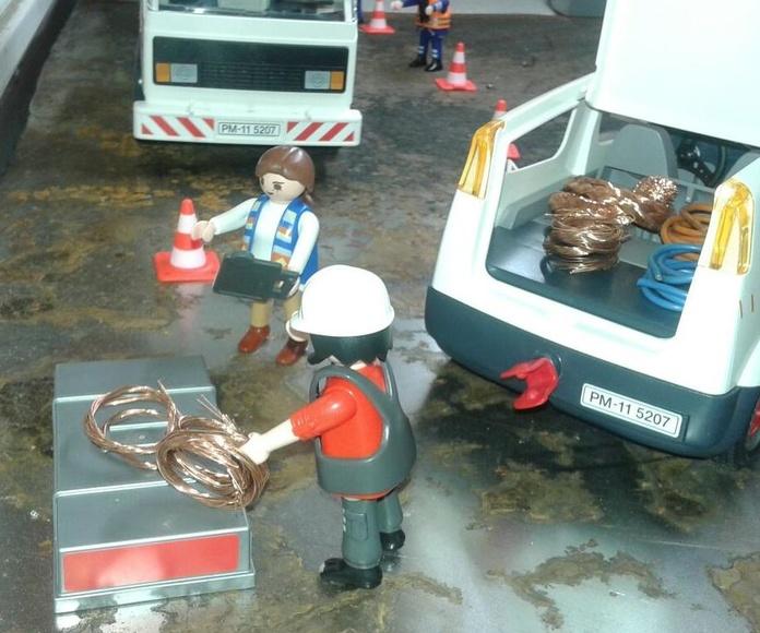 Compra de cobre, aluminio, inox, laton y metales en Chatarras Clemente de Albacete