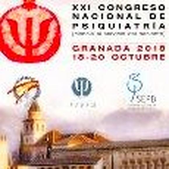 XXI Congreso Nacional de Psiquiatría. 18-20 Octubre 2018. Granada