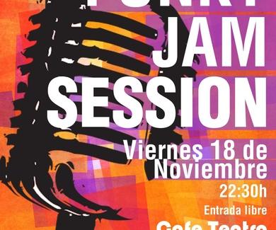 FUNKY JAM SESSION VIERNES 18 A PARTIR DE LAS 22:30H.