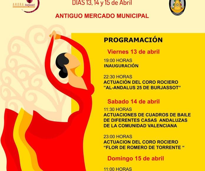 """IV Feria de la Tapa Andaluza en el """"Antic Mercat Burjassot"""""""