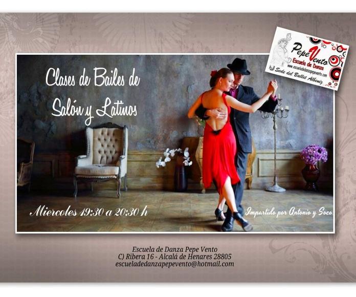 Bailes de Salón y Latinos