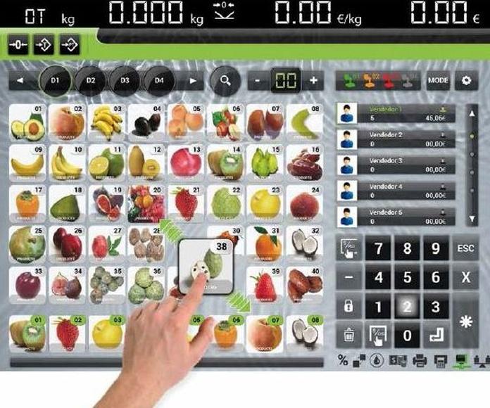 TouchScale 20I: Productos y Servicios de Inosca