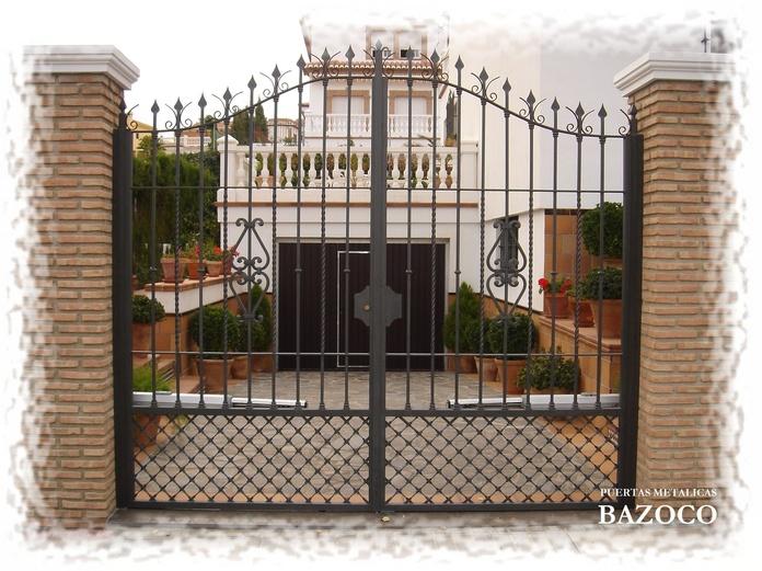 KIT hidráulico para cancelas batiente dos hojas en Granada