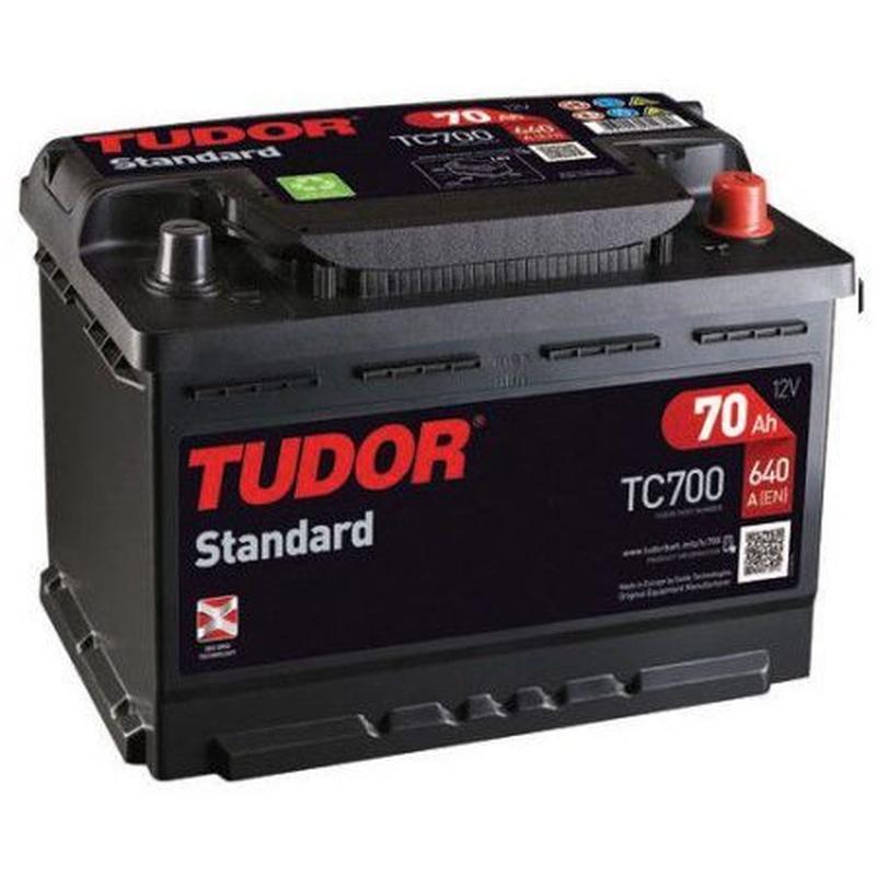Baterías Tudor: TC700: Recambios para el Automóvil de Lucauto Madrid