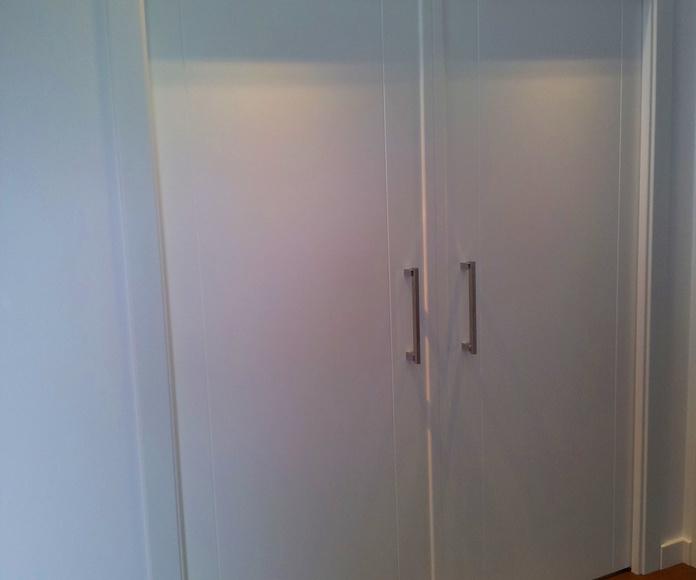 Puertas interiores: Carpintería y ebanistería de Carpintería Marsam  Jundiz