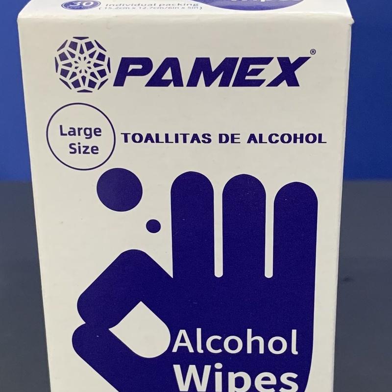 Toallitas desinfectantes PAMEX : SERVICIOS  Y PRODUCTOS de Neteges Louzado, S.L.